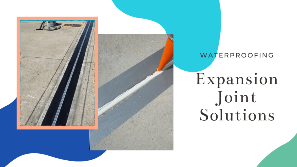 Expansion joint Waterproofing Solutions, Building joint waterproofing services in bangalore